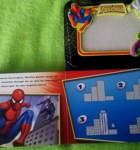 Детская сенсорная доска для рисования + книжка