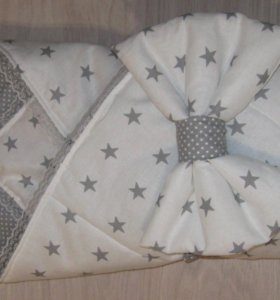 Конветик-одеяло на выписку