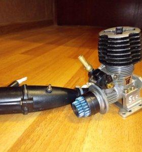 Нитрометановый двигатель rc 1:10