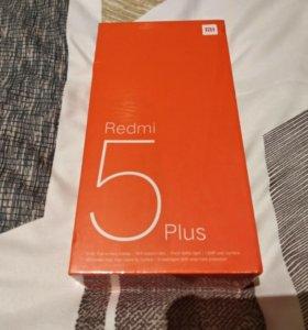 Смартфон Xiaomi redmi 5 Plus Gold 4/64(Global ver)