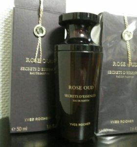 Rose oud secrets d'essences Yves Rosher