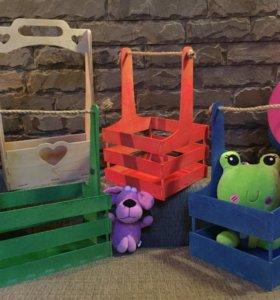 Ящики, коробки, корзины для цветов