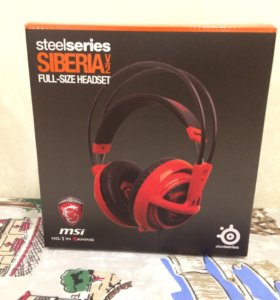 наушники MSi steelseries Siberia v2