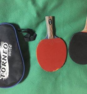 Пара темничных ракеток и сумка