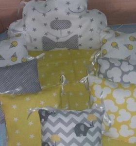 Детские бортики,подушечки