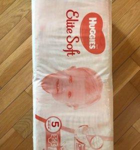 Детские подгузники Huggies Elit Soft размер 5
