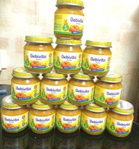 Овощное пюре Бебивита