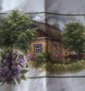Домик в деревне. Весна