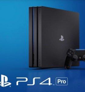 Sony PlayStation 4 Pro 1Tb (новая)