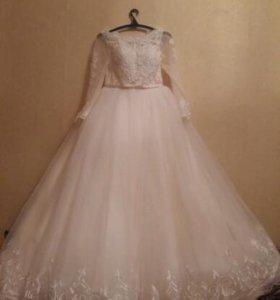 Свадебное новое платье