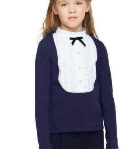 Блузка в школу новая  р 158