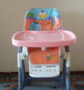 Детский стул для кормления(почти новый)