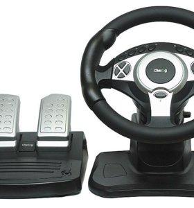 Игровой руль Dialog RACE WINNER II GW-301