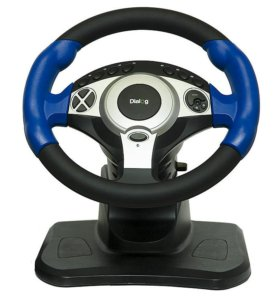 Руль с педалями Dialog STREET RACER II GW-201