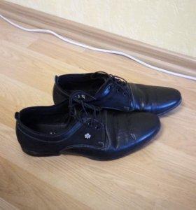 Туфли мужские кожа размер 42