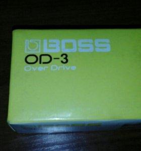 Гитарный эффект .BOSS OD-3 OverDrive