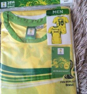 Фирменная футболка fifa Brazil
