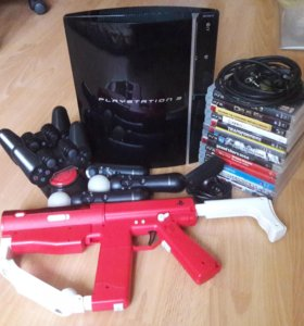 PS 3+ PS Move + PS Eye + игры
