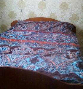 Продам двухспальную кровать!