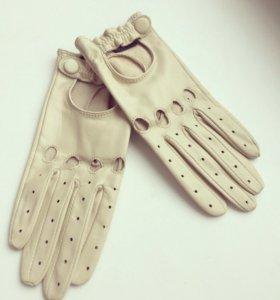 Женские кожаные перчатки-Италия