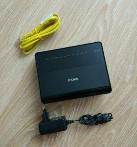 Роутер D-Link DSL-2650U