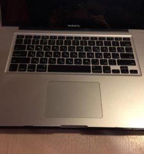 MacBook Pro 15, 2010 год