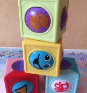 Кубики сенсорные Fisher-Price
