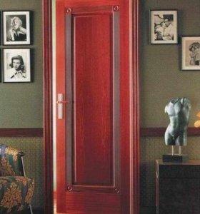 Установка межкомнатных дверей 2500т.р. под ключ !