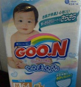 Подгузники детские Goon М(6-11кг)