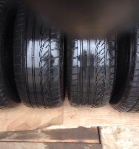 """Комплект летних шин б/у 235/55 R 17 """"Dunlop"""""""