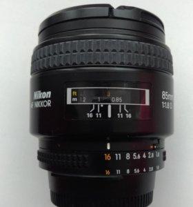 Nikon af Nikkor 85mm 1.8D