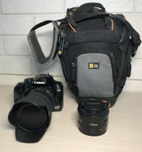 Canon 1000d, Sigma 18-200mm, Canon 50mm