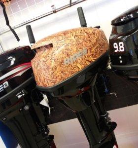 Лодочный мотор Hidea 9.9 (15)Новый! Камуфляж!