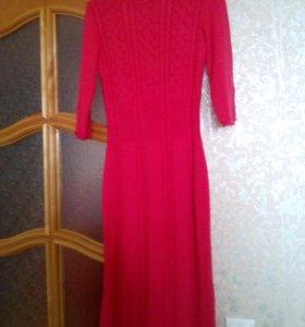 Платье женское шерсть и ангора