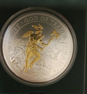 10 долларов, бог Торговли