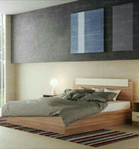 Комплект Кровать с матрацом 1,4