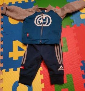 Детский костюм adidas 68р