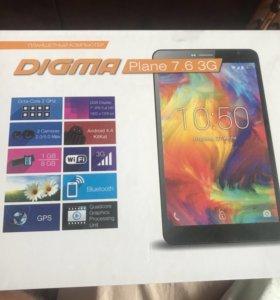 Планшет Digma Plane 7.6 3G