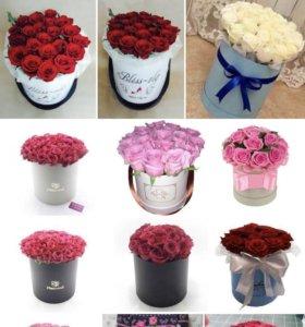 Розы 🌹 фловербокс