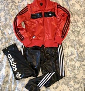 Adidas винтажный спортивный костюм