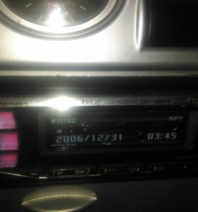 Магнитола Алпаин 9885r, радио,аух,диск