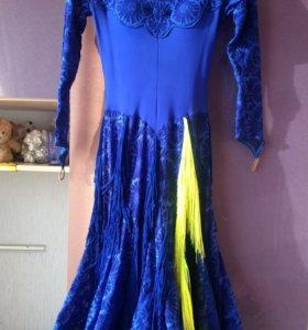 Платье для бально-спортивных танцев , торг