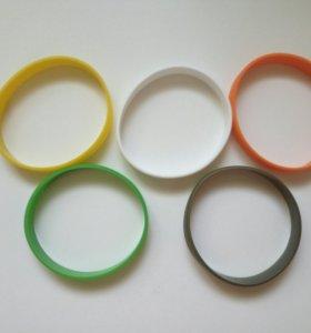 Силиконовые браслеты