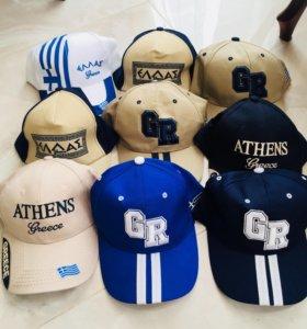 Греческие кепки Новые!
