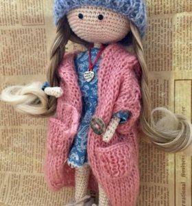 Кукла вязаная ручная работа