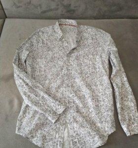 Мужская рубашка Zara 48р