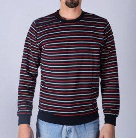Пуловер с начесом