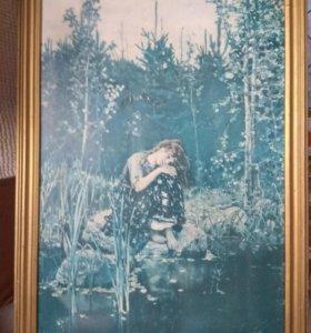 Картина Васнецова Аленушка