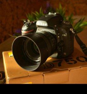 Nikon D750+объектив и не только