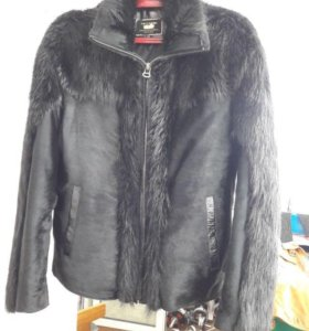 Куртка из натуральным мехом